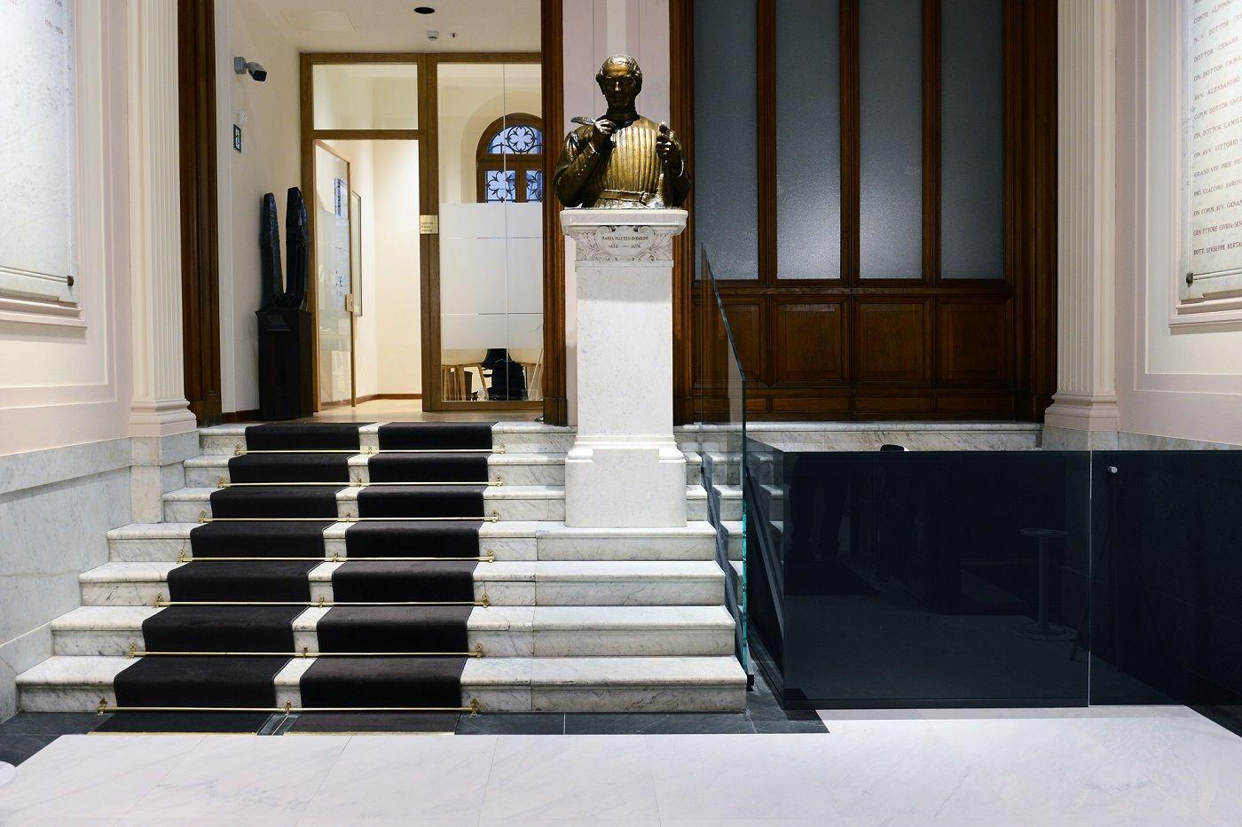 Flooring s r l unicredit reggio emilia palazzo pratonieri for Bagnoli s r l reggio emilia re